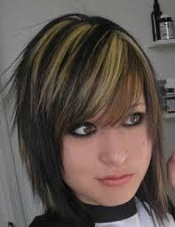 emo hairstyles for thick hair