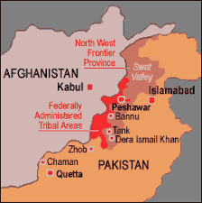 pakistan swat valley map