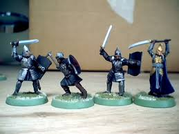 lord of the rings minis