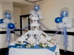 decoraciones con globos para bautizo