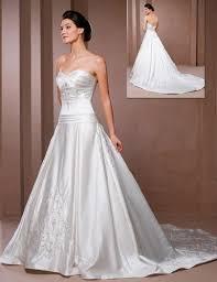 satin bridal