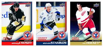 hockey trading card