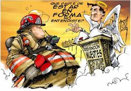 caricaturas de bomberos