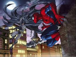 batman vs spider man