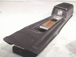 1968 mustang console