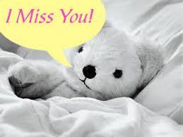 miss u greeting card