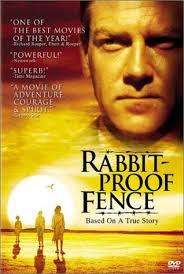 a rabbit proof fence