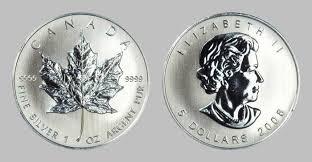 maple leaf silver