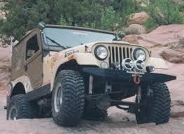 cj7 bumpers