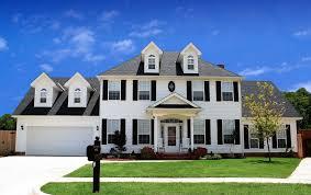 blue sky house