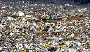 floating garbage island