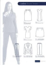 ladies office uniforms