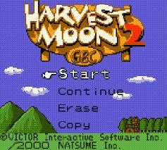 harvest moon game boy color