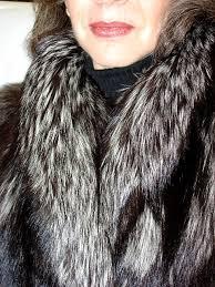 silver fox coats