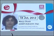 pensioners bus pass