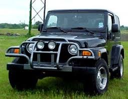 jeep wrangler grill guards