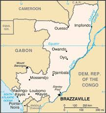 map of congo africa