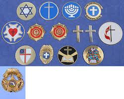 chaplain badges