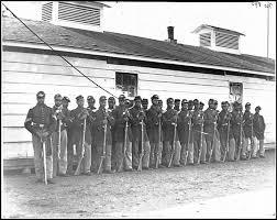 black civil war troops