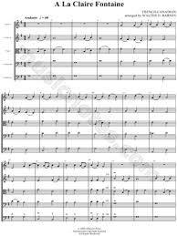 score sheet music