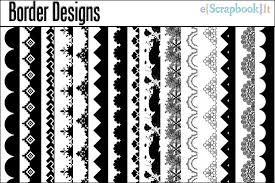 designs of borders