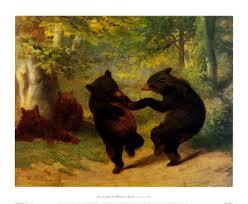 dancing bear painting