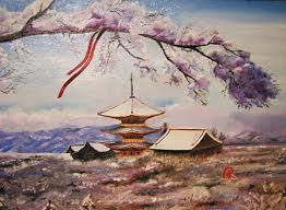 japanese landscapes paintings