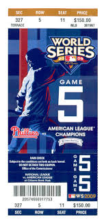 World Series Tickets