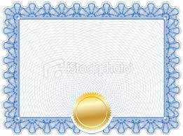 gold seal certificate
