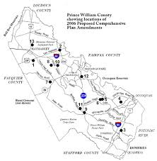 prince william county map