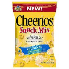 cheerios snack mix