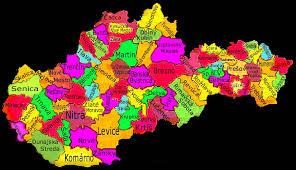 okresy slovenska