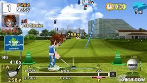 hot shots golf open tee 2 psp