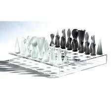karim rashid chess set