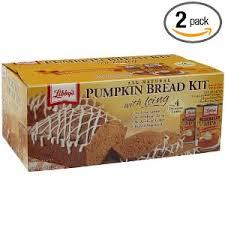 libbys pumpkin bread kit
