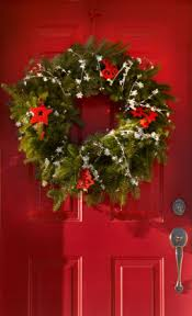 christmas decorations for doors