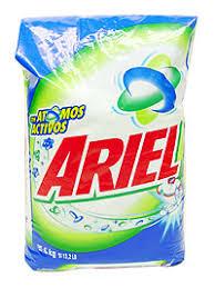ariel detergente