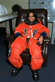 Kalpana Chawla suits up