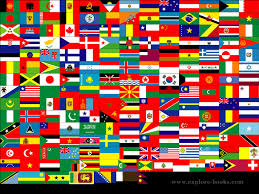 flags of the whole world