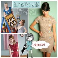 mod dress patterns