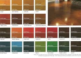 concrete stain color