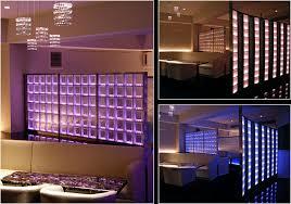 lighted glass bricks