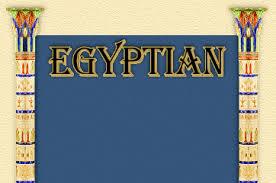 egyptian themes