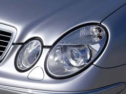 mercedes benz headlight