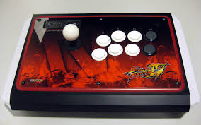 street fighter arcade joystick