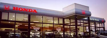 honda car showroom