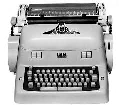 ibm executive typewriter