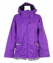 purple snow jacket