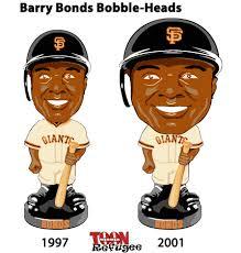 barry bonds bobble head