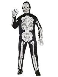 fancy dress skeleton